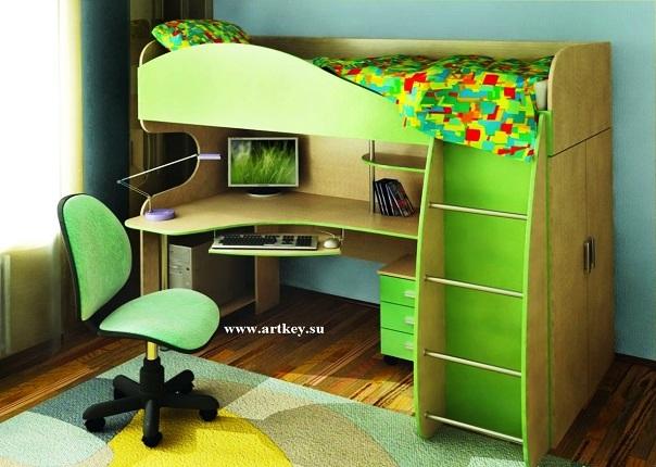 Для детей мебель для