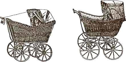 сделать плетеную коляску самому