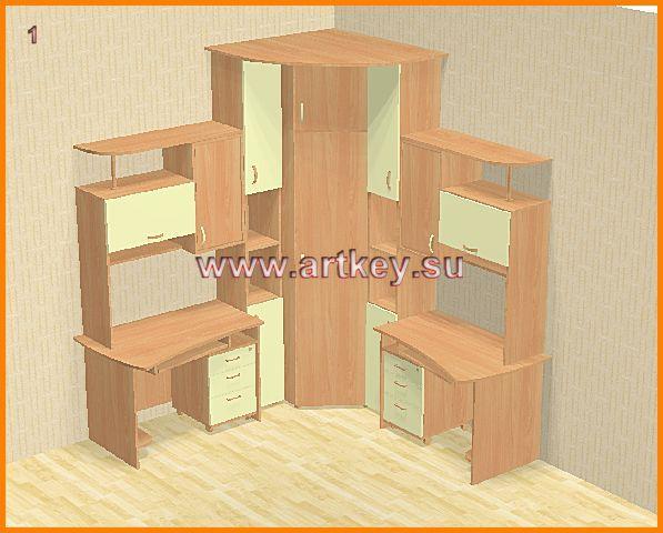 Проекты детской мебели 1 - проекты мебели - детская мебель.