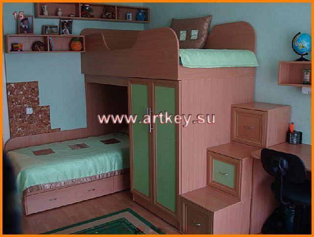 Детская мебель для двоих фото