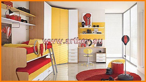 Мебель для двоих детей детская мебель